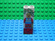 LEGOS 2 Decorated Brick Column 1 X 2 X 5 Jungle Pattern   Amazon Ancient Ruins