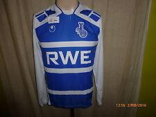 "MSV Duisburg uhlsport Junior Langarm Matchworn Trikot 2004/05 ""RWE"" + Nr.4 Gr.S"
