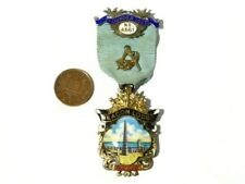 1923 Beacon Lodge No 4551 Masonic Founder Jewel NORTH SHIELDS Obsolete  #MM58