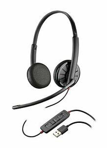 New Plantronics Blackwire 325.1M Binaural Headset - Part Number - 204446
