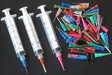 10CC Syringe SMT SMD PCB Solder Paste Adhesive Glue Liquid Dispenser EFD Loctite