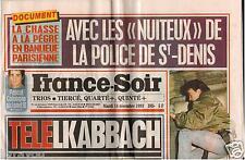 ▬► Journal Anniversaire 14/12/1993 France Soir _ DIANE DUFRESNE
