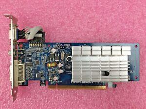 GIGABYTE GeForce 7200GS GV-NX72G512E2 256MB GDDR2 PCI-e Graphics Card VGA DVI