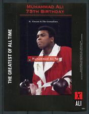 St Vincent & Grenadines 2018 MNH Muhammad Ali 75th 1v S/S Boxing Sports Stamps