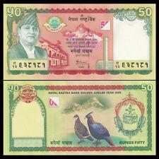 Nepal 50 Rupees, 2005, P-52, UNC>50th COMM.
