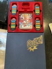 Buzz quiz tv game con controladores 4x. no Dongle Usb-PS3