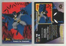 "2005 ""BATMAN ANIMATED"" TOPPS PROMO TRADING CARD - GOOD CONDITION"