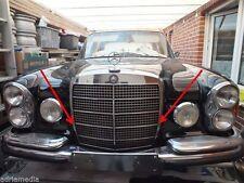 Original Mercedes 2 Gummipuffer Motorhaube Kühler W108 W109 W110 W111 W114 W115