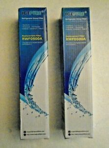 ICEPURE Replacement  Water Filter RWF1200A Whirlpool +Maytag Kenmore Kitchen Aid