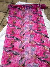 Bordado Floral Burnout Transparente con Lentejuelas Vestido De Seda Pura De Tela Italiana