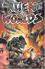 Alien Worlds Comic Book #8 Eclipse Comics 1984 NEAR MINT  UNREAD