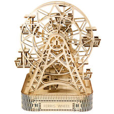 Ciudad de Madera Rompecabezas 3D edificio mecánico Noria Modelo WR306