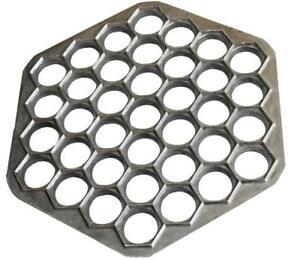 Russian Dumpling Maker Manti Ravioli Pierogi Pelmeni Mold Aluminum Pelmennitsa