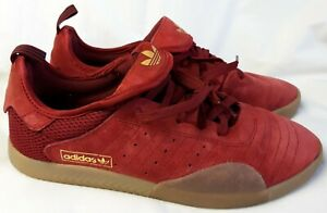 Adidas 3St.003 Burgundy Red Casual Shoes Sneakers EF8458 Men's Size 10
