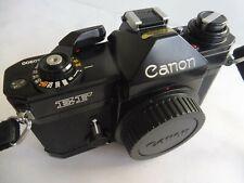 Vintage Canon EF Body Gehäuse SLR Kamera Spiegelreflexkamera black schwarz