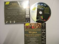 BACH/EGGER/KLEINER/WEBER: Works For Violin & Basso Continuo – 2000 German CD