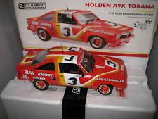 Holden A9x TORANA 1977 Bathurst Jane/geoghegan Diecast Model Car 1 18