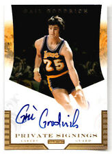 2011-12 Panini GAIL GOODRICH Private Signings AUTOGRAPH Lakers UCLA Bruins /49