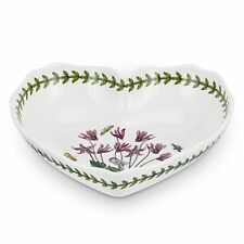 Portmeirion Botanic Garden Scalloped Edge Heart Shaped Dish