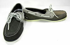 Timberland Boat Shoes CLS 2 Eye Lo Leather Gray Topsiders Size 9 EUR 43
