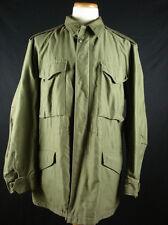 Vintage 50s M1951 M51 Field Coat Jacket Green OG-107 sz M 6-45