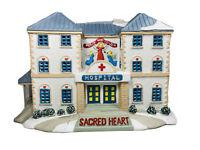 Lemax Hospital 1998 #85291 Village Christmas Sacred Heart Retired