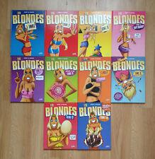 """Edition Originale -  Collection """"Les Blondes"""" - Tome 1 à 10 en parfait état"""