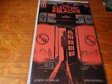 The Electric Black #1 A Scout Comics NM Schmalke Woodall
