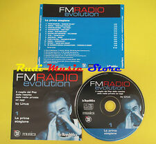 CD FM RADIO EVOLUTION 1 compilation PROMO 2003 FRAMPTON BOSTON 10 CC*(C3) no mc