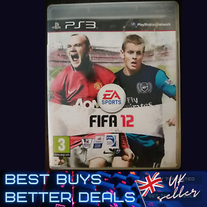 FIFA 12 PS3 Playstation 3 Game TESTED VGC