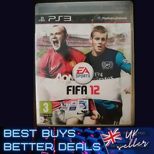 FIFA 12 PS3 Playstation 3 Game TESTED VGC