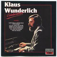 [BEE GEES COVER] KLAUS WUNDERLICH ~ CELEBRATION ~ 1989 UK 15-TRACK CD ALBUM