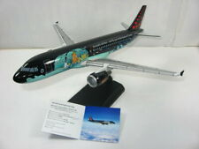 TIM & STRUPPI  TINTIN  Moulinsart Rackham Airbus A320 Brussels Airlines 1:100 L*
