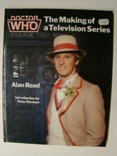 1982 Doctor Who The Making of Television Series Book Peter Davison Photo Cover