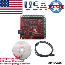 Cnc Usb Mach3 100khz Breakout Board 4 Axis Interface Driver Motion Controllerus