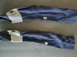 HS BASEBALL JOCK BLUE MED Under Armour HeatGear Knee High
