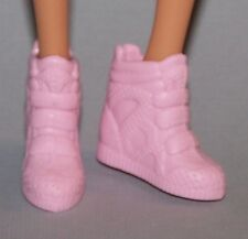 Barbie Doll Shoes Fashionista Original & Petite Size Pink Tennis Shoes Sneakers