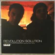 "THIEVERY CORPORATION - Revolution Solution - 12"" Single (Vinyl LP) ESL082"
