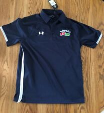 New Under armour polo Golf Rugby shirt Wales vs South Africa Men's M size