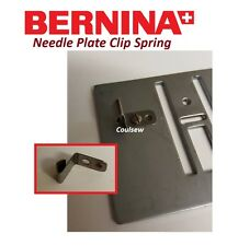 BERNINA SEWING MACHINE NEEDLE PLATE SPRING CLIP Activa Artista 220 7,8 Series +