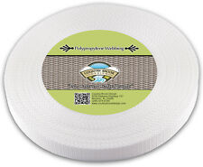Country Brook Design® 1 Inch White Heavy Polypro Webbing, 50 Yards