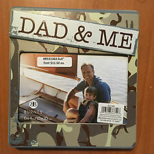 LOT OF TWO (2) BURNES PHOTO FRAMES FATHER SON