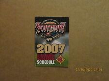 GBL Yuma Scorpions Vintage Defunct Circa 2007 Team Logo Baseball Pocket Schedule