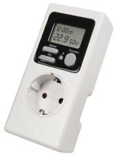 Rev Energiekostenmessgerät stromzähler strommesser digital weiß 002579