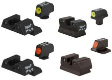 Trijicon HD Series Semi-Auto Handgun Pistol 3-Dot Front & Rear Night Sight Sets