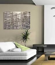 metal wall art sculpture abstract