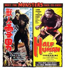 HALF HUMAN & MONSTER SNOWMAN John Carradine DVD Japanese Yeti Bigfoot (GODZILLA)