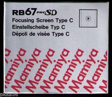 Mamiya RB 67 PRO SD / PRO S  FOCUSING SCREEN ( TYPE C / MICROPRISM )