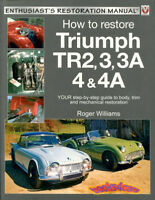 TR4 TR3 RESTORATION MANUAL TR2 HOW TO RESTORE TRIUMPH GUIDE BOOK