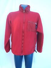 Vtg Men's XL Patagonia 90s Synchilla Retro X Red Thick Heavy Fleece USA Jacket